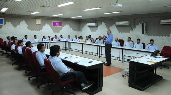 Training on 'Basics of Metallurgy' at GNFC