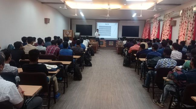 Training on NDT for Engineers at Parul University