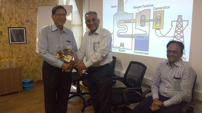 Training on Steam Turbine